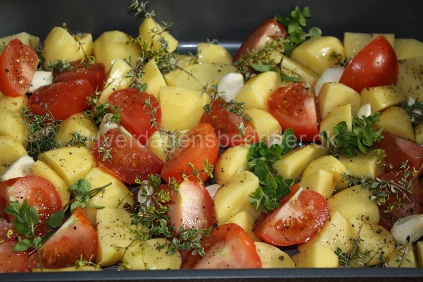 bagte kartofler i ovn