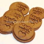 Chokolade småkager med kanel og ingefær