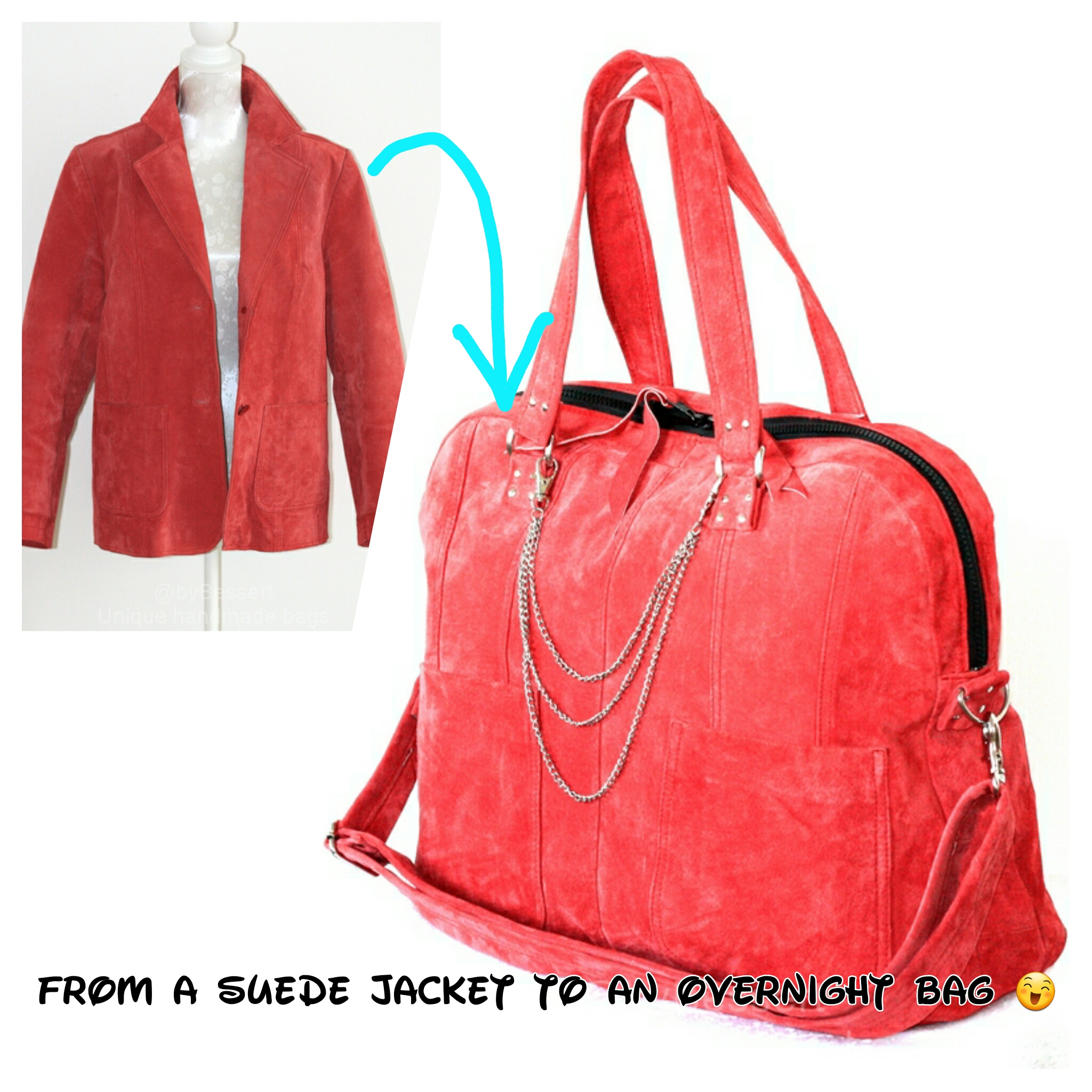 From jacket to overnight bag