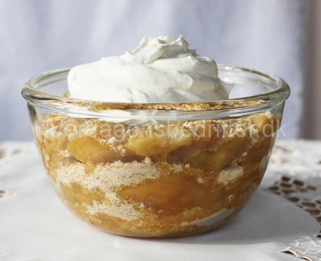 Gammeldags æblekage