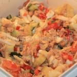 LCHF Tunsalat med æg og kål