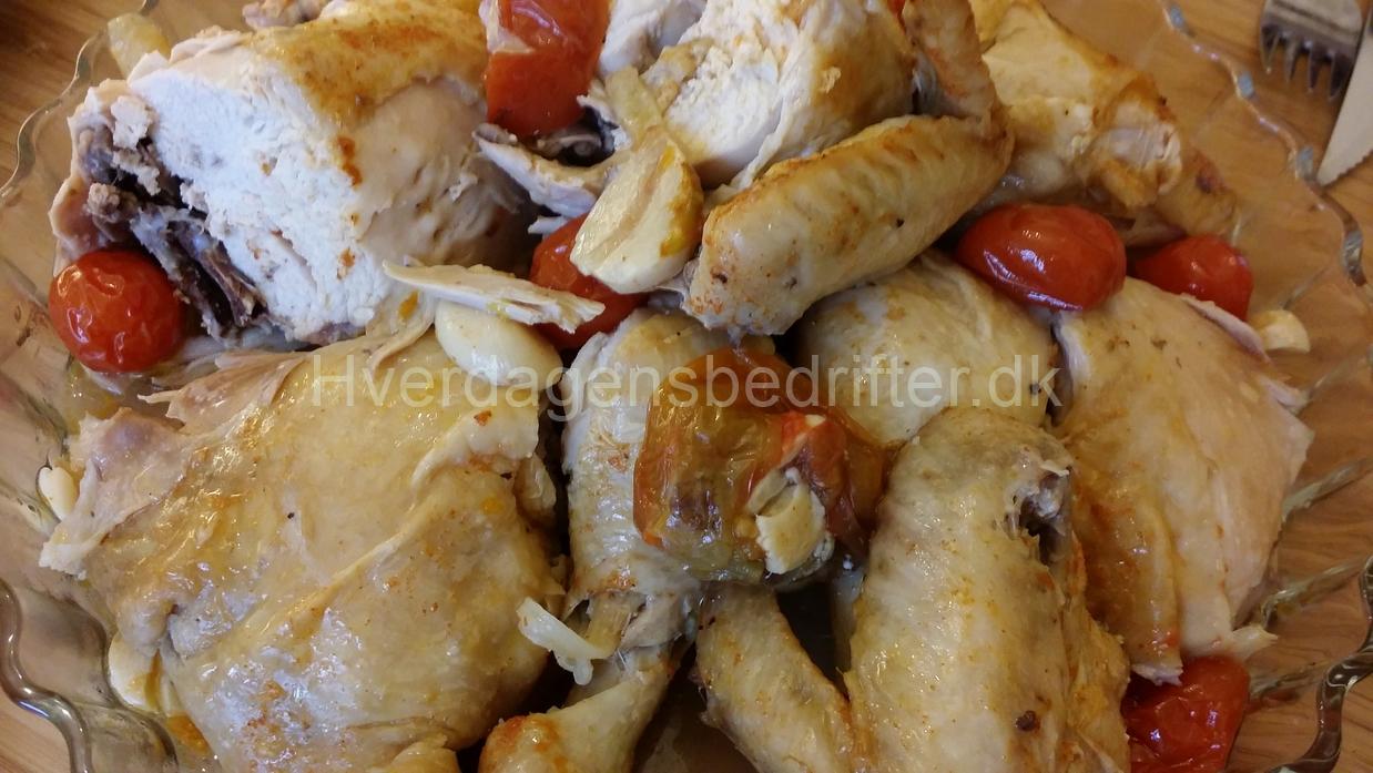 Kylling i gryde