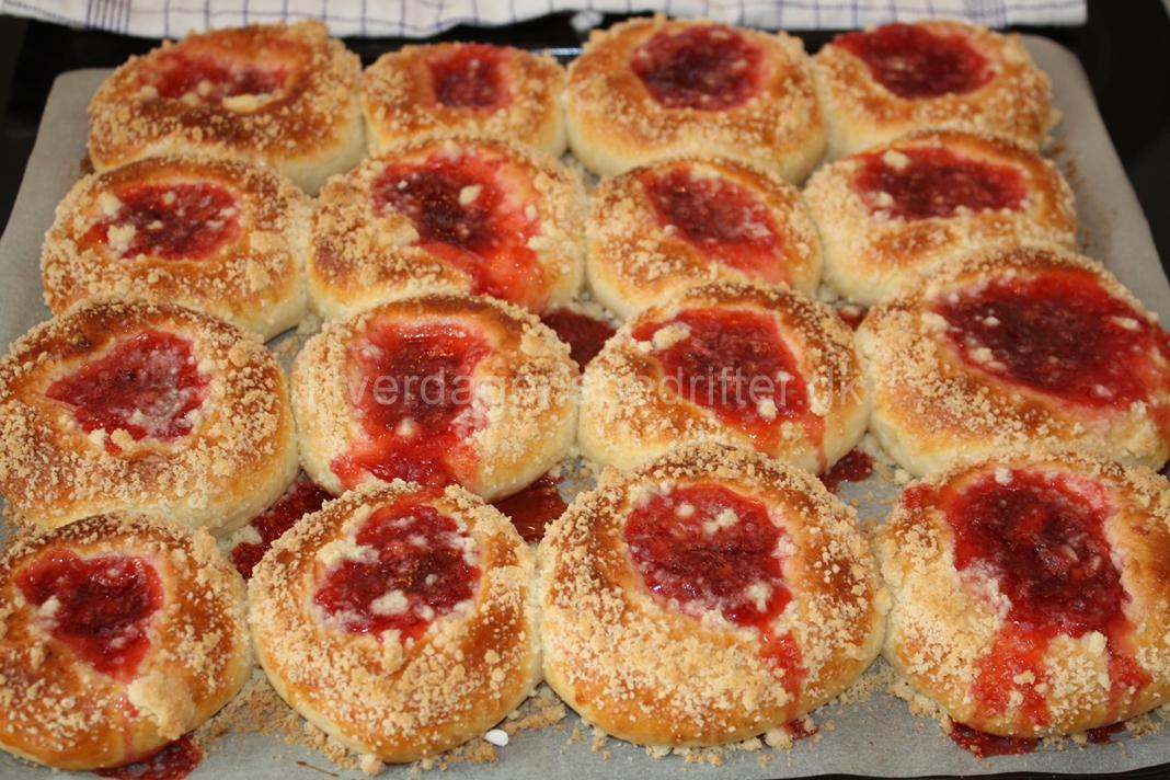 Polske boller med marmelade