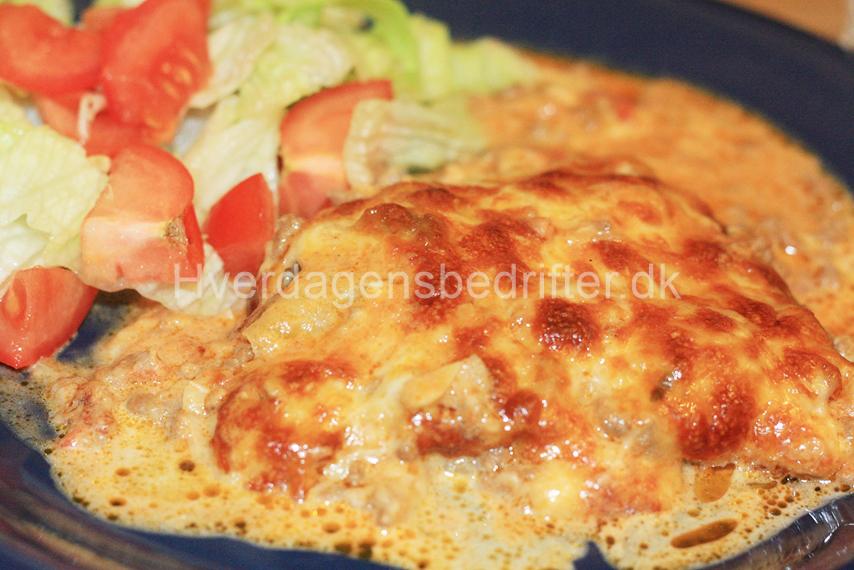 LCHF lasagne med kål