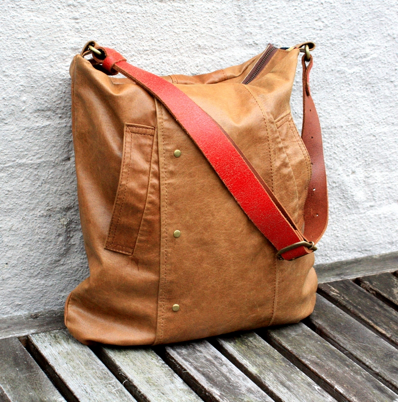 taske brun læder