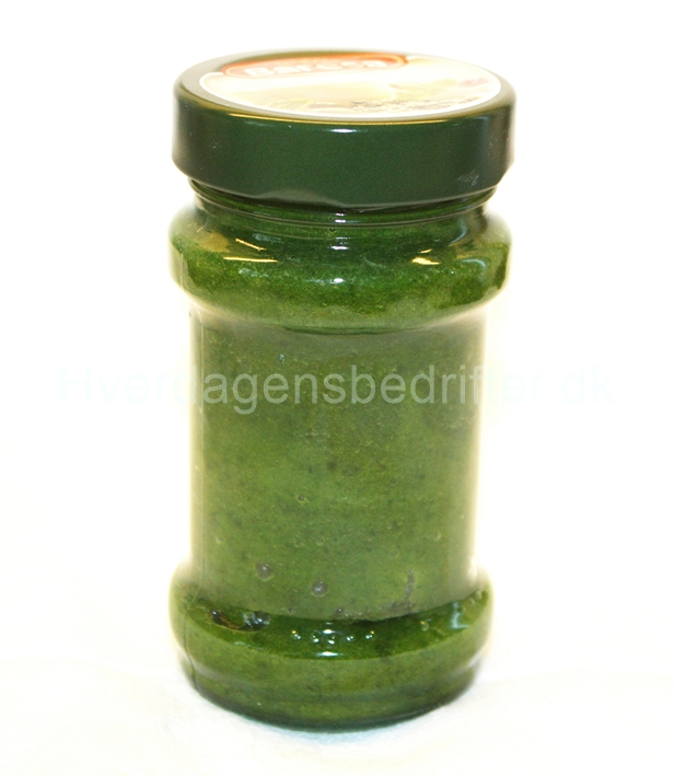 Pebermyntesukker på glas