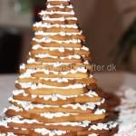 Juletræ pyntet med glasur