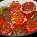 Polsk indbagt peberfrugt med fyld
